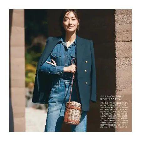 懂打扮的女人不显老 学学52岁日本阿姨的冬季搭配
