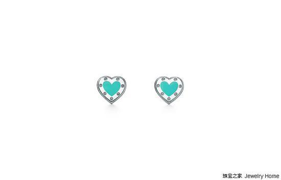 Tiffany & Co。蒂芙尼 RETURN TO TIFFANY系列耳环,925银,售价: RMB 2,550
