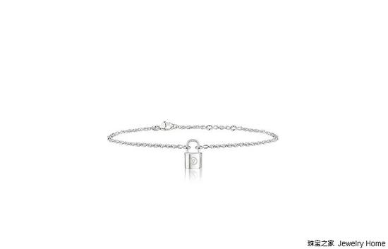 Louis Vuitton 路易威登 Lockit系列手链,925银,售价:RMB 3,850