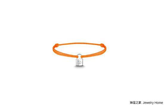Louis Vuitton路易威登 Silver lockit系列手链,售价:RMB 1,900