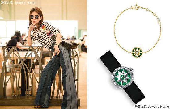 Dior 迪奥ROSE DES VENTS系列手链、LA MINI D DE DIOR腕表