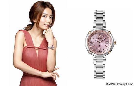 Citizen 西铁城腕表xC系列 钛金属金属电波女士腕表