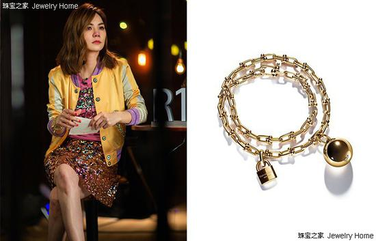 Tiffany & Co。 蒂芙尼 Tiffany Hard Wear系列 手链