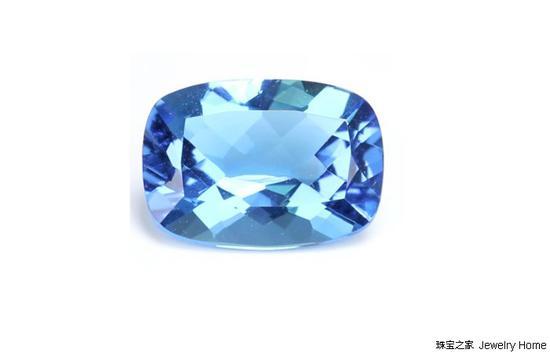 蓝色托帕石