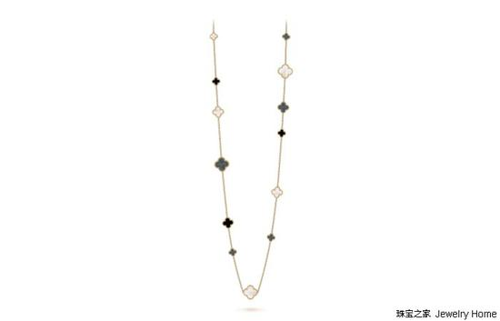 Van Cleef & Arpels 梵克雅宝 长项链120cm 售价:RMB177,000