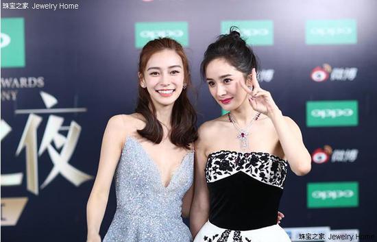 杨幂和Angelababy