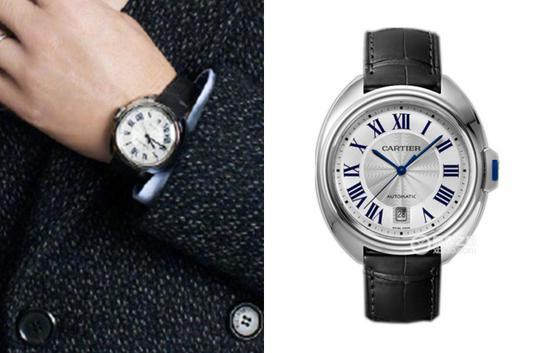 陈小春佩戴卡地亚钥匙系列WSCL0018腕表