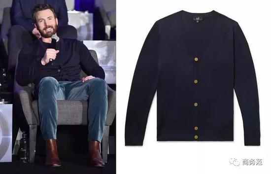 这件深蓝色Burberry夹克,价格约万元左右……不会出错但也没啥亮点。