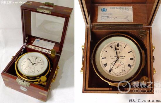 雅典表航海天文钟