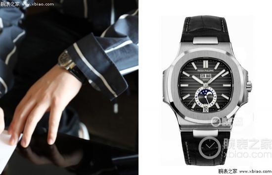 朱一龙佩戴百达翡丽运动系列 5726A-001 腕表 ( 鹦鹉螺 )
