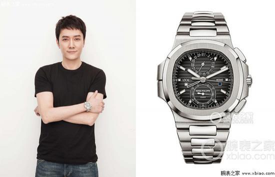 冯绍峰佩戴百达翡丽运动系列5990/1A-001 腕表