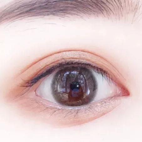 有眼线 图源小红书@小蘑菇Cissy
