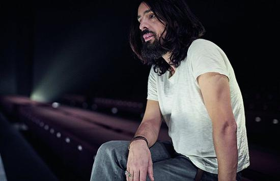 Alessandro Michele。图片来源:Ronan Gallagher