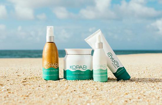 Kopari Beauty的椰子油产品