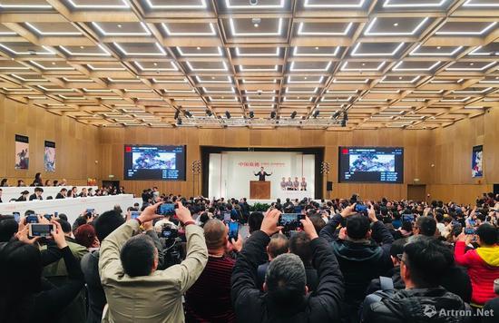 潘天寿《初晴》2.0585亿成交