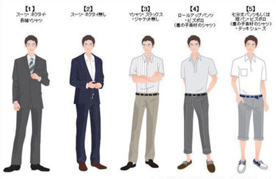 ■日本商务男子图鉴