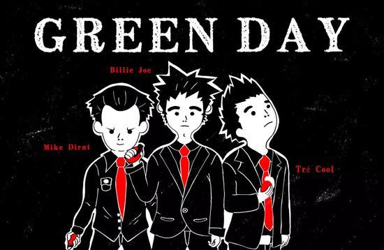 美国朋克乐队 Green Day