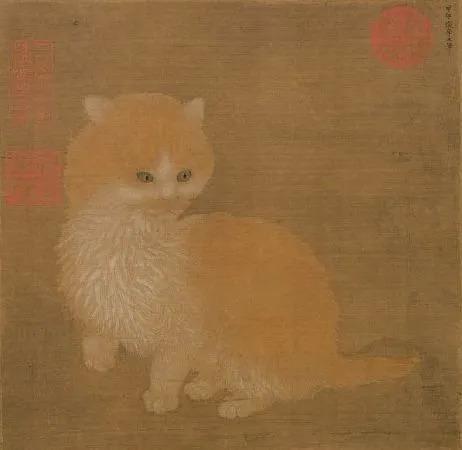 李迪《貍奴小影圖》:宋人有多愛貓?