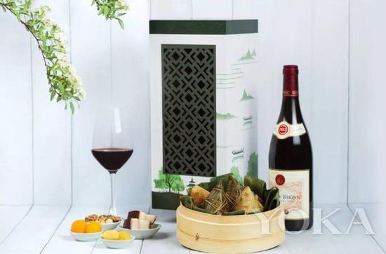 北京柏悦酒店的粽子礼盒 图片来自Enjoy