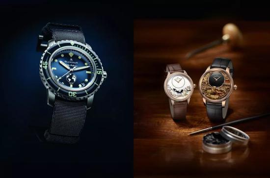 斯沃琪集团收购了许多高级钟表品牌