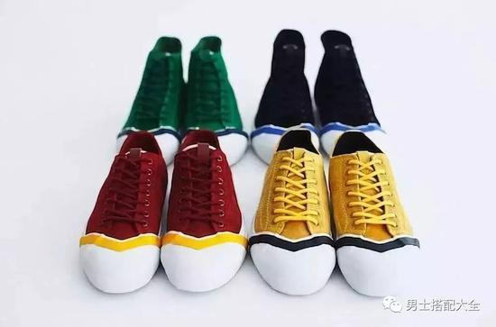 这些小众的帆布鞋可以让你与众不同