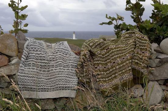Fair Isle 毛衣(image:shetland)