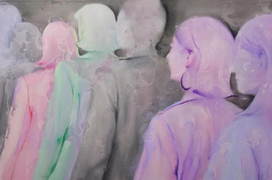 默6,150x100cm,布面油画,2018