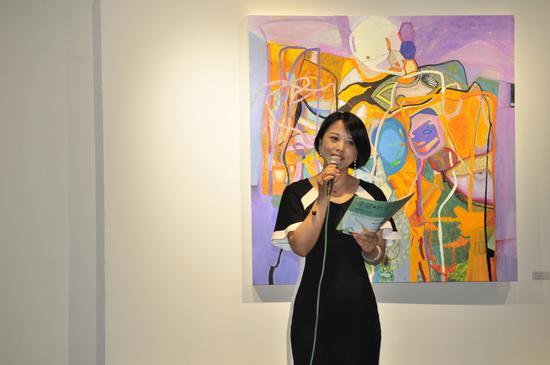 """""""希望·新生""""——陈晓英作品展,在北京开幕"""