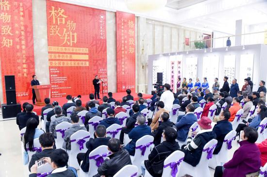 四川民族学院书法研究所全国大展在蓉开幕