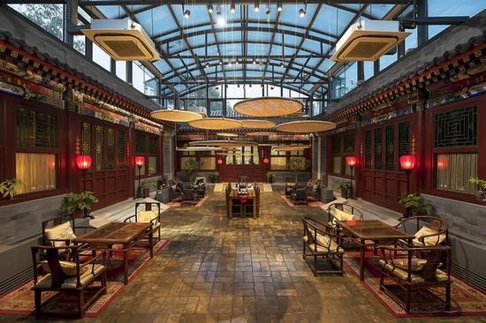 什刹海紫檀文化四合院酒店 图片来源自Booking