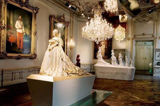 茜茜公主博物馆展览 图片来源自PinterestTrudy de Bie