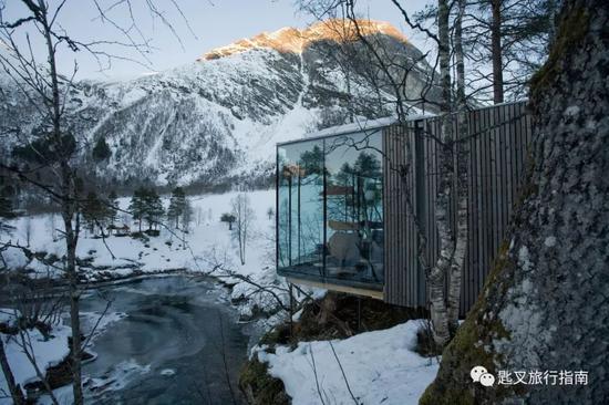 心目中挪威最美的一间酒店。