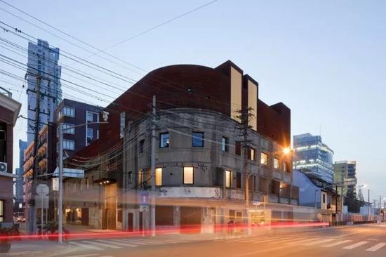 如恩改造的水舍精品酒店原建筑是20世纪30年代的日本武装总部。