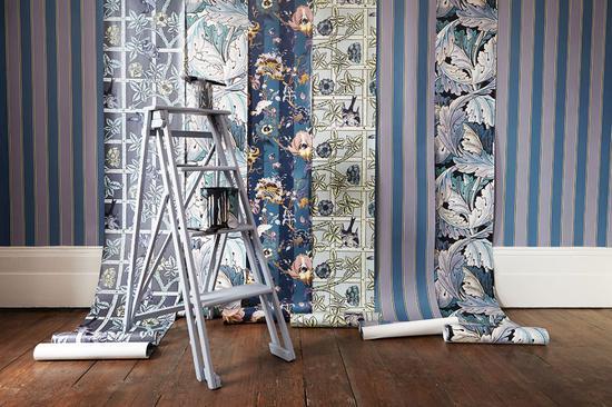 专业生产壁纸和织物的品牌House of Hackney,其设计灵感来自永恒的英格兰,然而也有非常反传统的一面,从大自然、斑马以及豹子的皮毛花纹中获得了许多启发