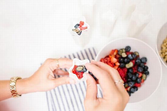 水果牛奶冰激凌 图片来源自laurenconrad.com
