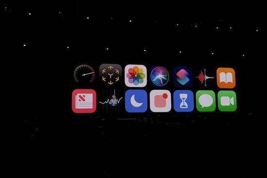 iOS 12 中更新的应用