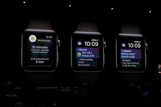 手表的通知交互发生改变