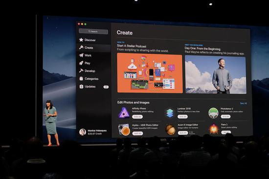 新的 Mac App Store