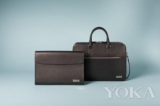 Bally Berna 系列男士黑色手包、公文包 图片来自品牌