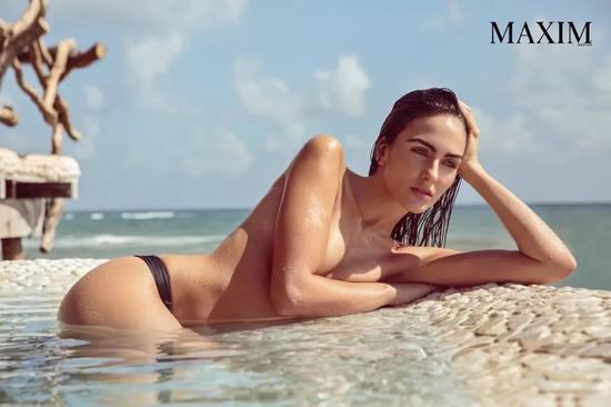 哥伦比亚名模Daniela Botero