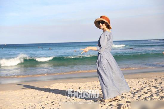 戴上草帽 哪里都是海滩