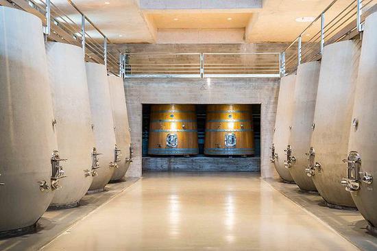 Bodega Garzón酒庄的酒窖