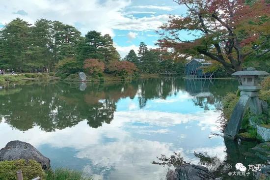中国宋代诗人李格非起名的日本第三大园林:兼六园