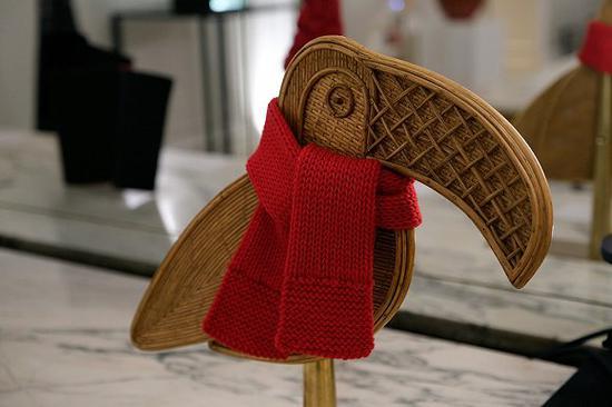 India  Mahdavi设计的巨嘴鸟 图片来源:WWD