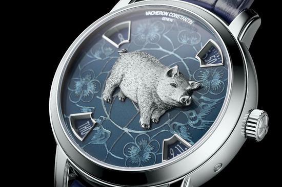 江诗丹顿 Metiers d'Art猪年限量腕表
