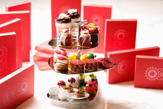 上海宝格丽酒店宝丽轩中餐厅新年下午茶 图片源自品牌