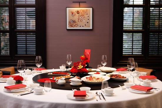 上海宝格丽酒店宝丽轩中餐厅新年盛宴 图片源自品牌