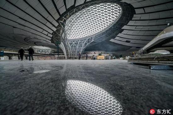 北京大兴国际机场 ©东方IC