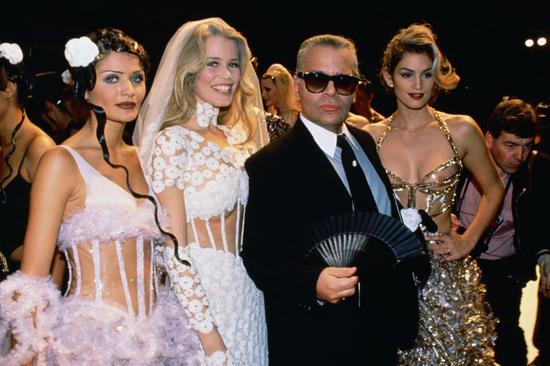 1993年 Chanel春夏高定秀