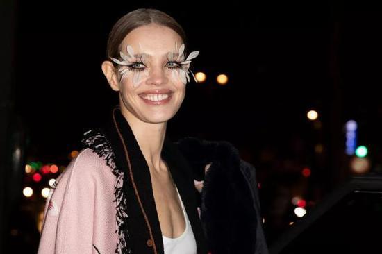 Natalia Vodianova in Valentino